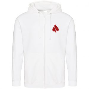 FASH-ACE FASH-ACE GLITTER_ZOODIES_MAN_WHITE_RED