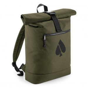 FASH-ACE_ROLLED-TOP_BACKPACK_MilitaryGreen