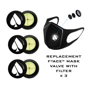 FASHACE FACE MASK REPLACEMENT VALVES